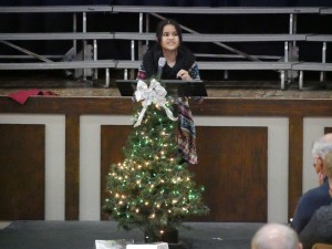 Sallyann Belton of the Marshall Islands shared some of the opportunities she has had to serve since she came to Moberly to attend Central Christian College of the Bible.