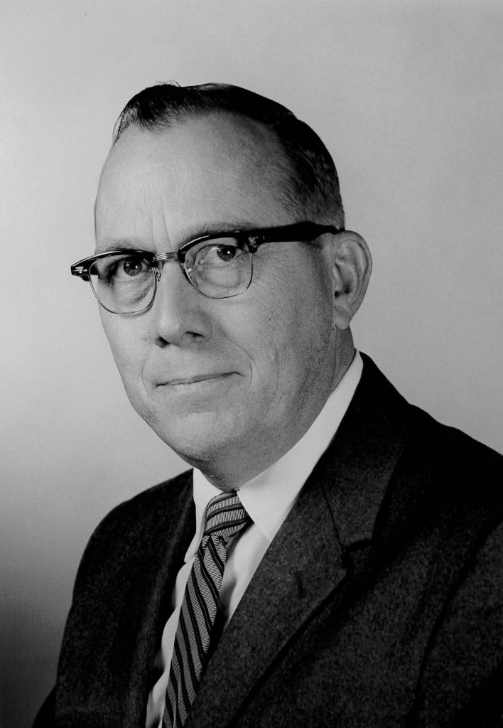 Grayson H. Ensign served as President from 1959-1966.